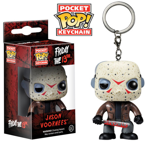 Pocket POP! Keychain - Movies - Friday the 13th - Jason Voorhees