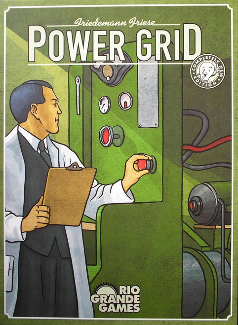 Power Grid - A Resource Management Board Game - Rio Grande Games