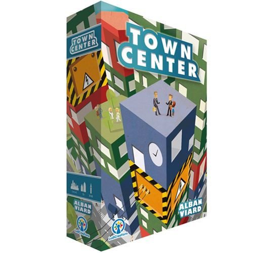Town Center 4th Edition - A Building Placement Game - Passport Game Studios