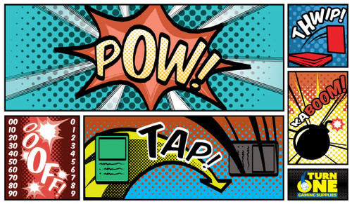 Turn One Gaming - Playmat - Retro Comic Book