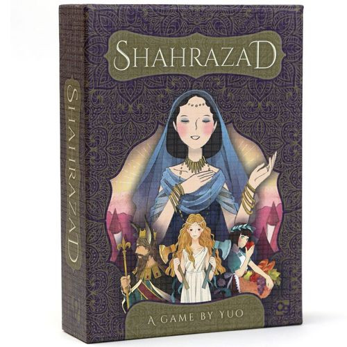 Shahrazad - Stories Unfurl - For 1 to 2 Players - Osprey Games