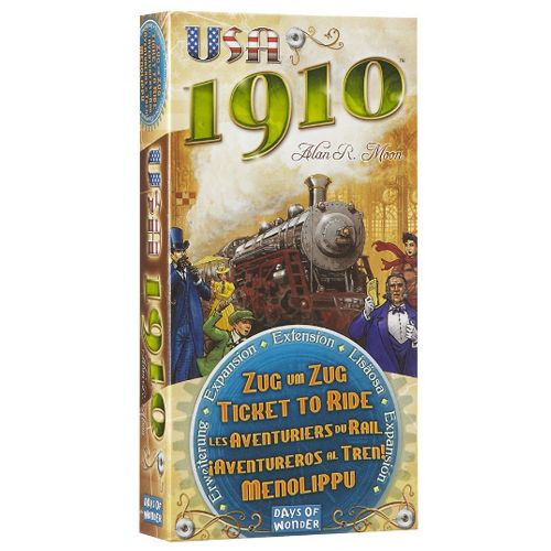 Ticket To Ride -  USA 1910 Expansion - Days of Wonder
