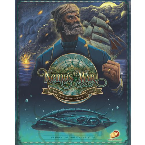 Nemo's War 2nd Ed. - An Underwater Board Game - Victory Point Games