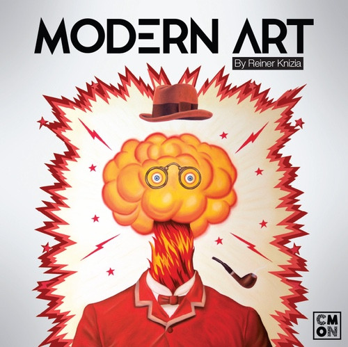 Modern Art - An Auctioning Board Game  CMON Games Edition
