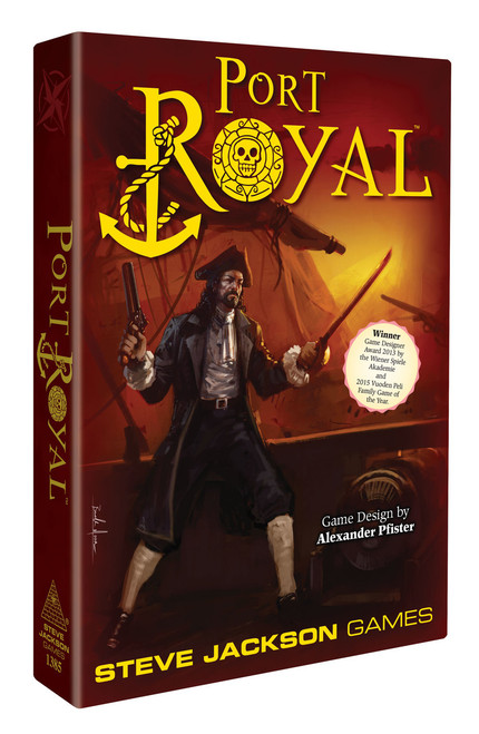 Port Royal - A Privateering Card Game  - Steve Jackson Games