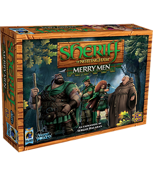 Sheriff of Nottingham - Merry Men Expansion - Arcane Wonders