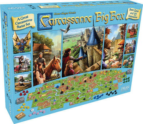 Carcassonne - The Big Box Edition 2017 - Board Game - Z-Man Games
