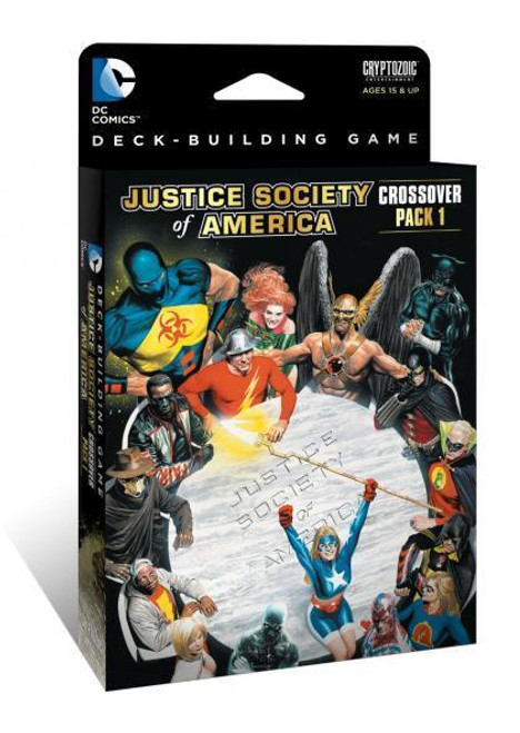 DC Comics Deck Building Game - Justice Society of America - Crossover Pack #1 - Expansion