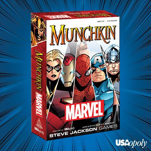 Munchkin: Marvel Edition (Base Set) - Card Game - USAopoly