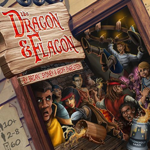 The Dragon and Flagon - An After the Adventure Board Game - Stronghold Games