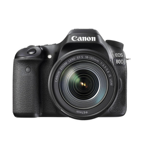 EOS 80D w/18-135 IS STM - Save $550