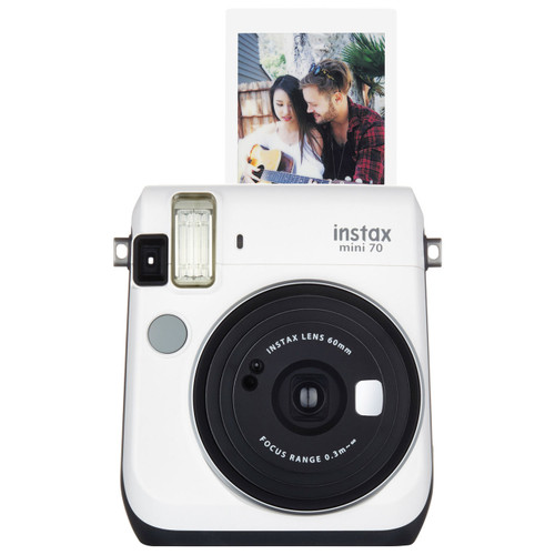 Fuji Instax Mini 70 - White - Save $40