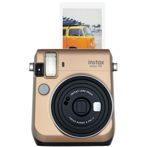 Fuji Instax Mini 70 - Gold - Save $40