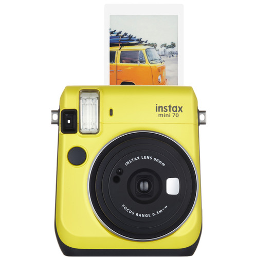 Fuji Instax Mini 70 - Canary - Save $40