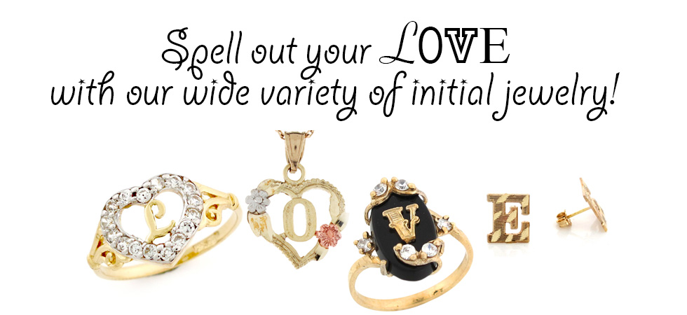 Initial Jewelry