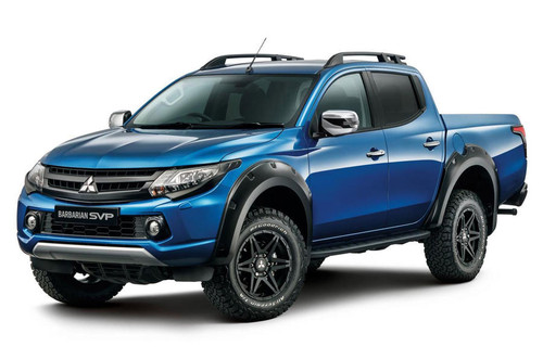 Mitsubishi L200/TRITON Barbarian SVP launches Special Vehicle Projects