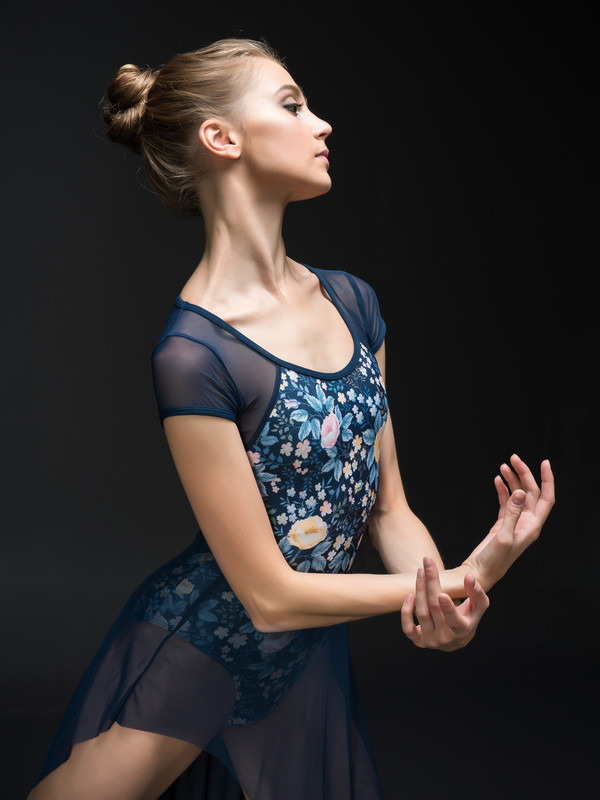 Emily Leotard with sleeves