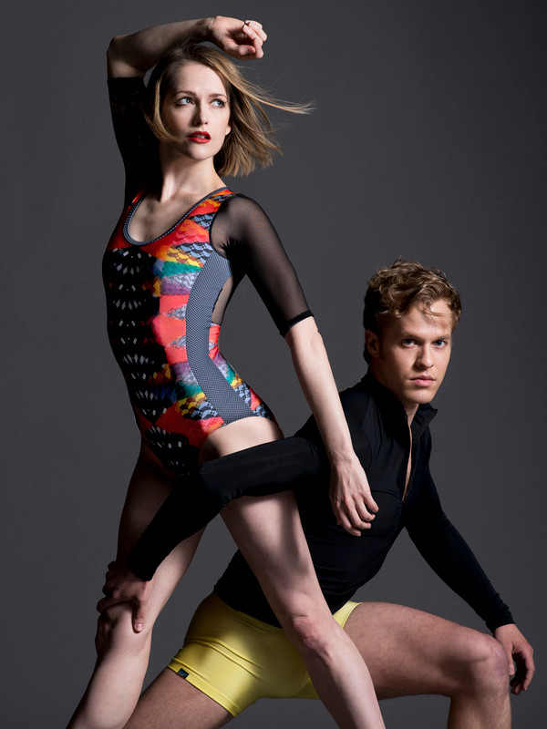 Natalie Leotard with Sleeves