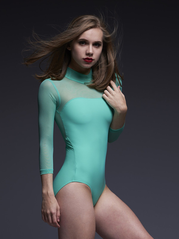 Elizabeth Leotard with Sleeves Leotard