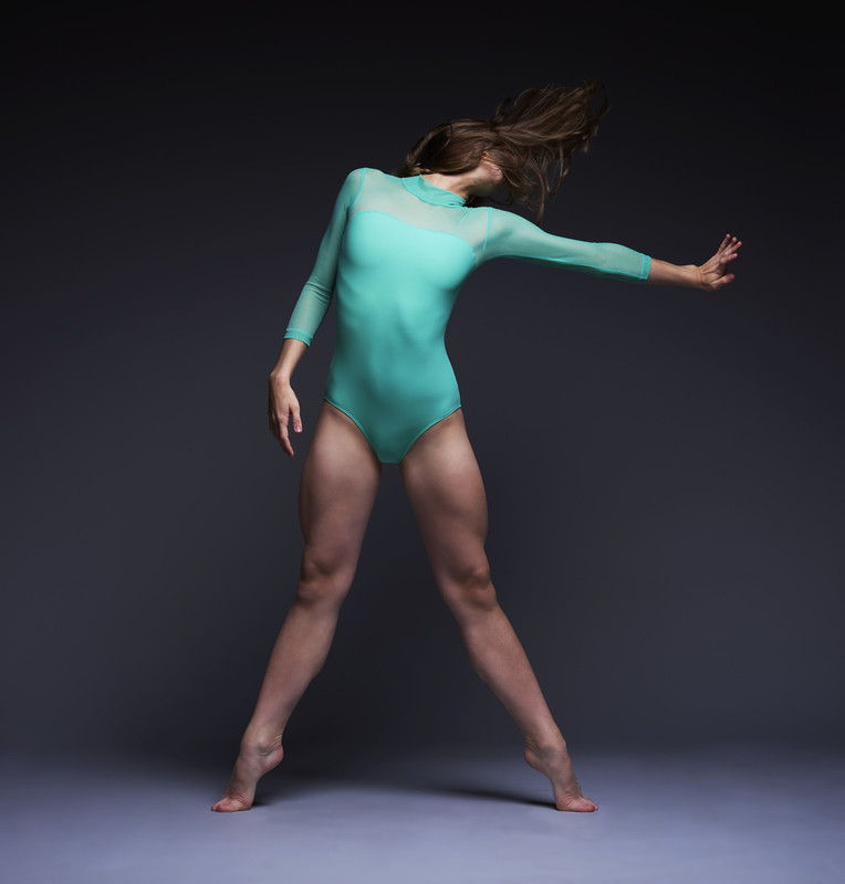 Elizabeth Leotard with Sleeves