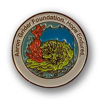 Customized coin designed to strengthen bonds, raise awareness, encourage success, or honor individuals