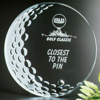 Crystal Golf Ball