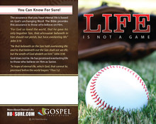 Life Is Not A Game (Baseball) PACK