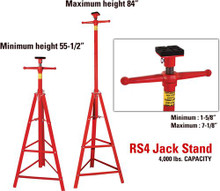 Rotary RS4 JACK STANDS - $120