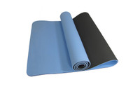 Alma Eco-TPE Yoga Mat 2 Tone Blue 6mm