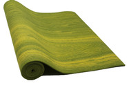 Boho Yoga Mat Lime Green 6mm