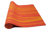 Boho Yoga Mat Aztec Orange 6mm