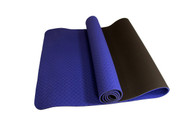 Alma Eco-TPE Yoga Mat 2 Tone Purple 6mm