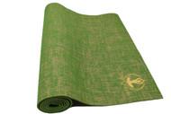 Splendid Natural Jute Yoga Mat Green 6mm