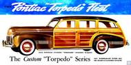 1940 Pontiac Torpedo Wagon Poster