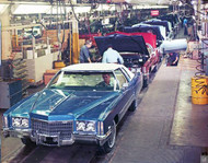 1972 Cadillac Eldorado Poster