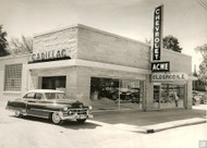 Acme Chevrolet Oldsmobile Cadillac Dealership Poster