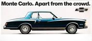 Chevrolet Monte Carlo Ad Poster