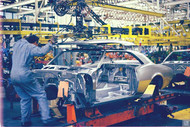 GM Norwood Ohio 1967 Camaro Poster