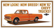 1967 Chevy Truck Billboard Banner