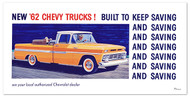 1962 Chevy Truck Billboard Banner
