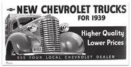 1939 Chevy Truck Billboard Banner