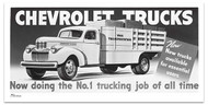 1944 Chevy Truck Billboard Banner