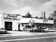 Padgett Pontiac Cadillac Dealership Poster