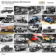 Chevrolet Trucks 1918 - 1940 Collection Poster