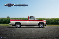 Chevy Trucks Centennial 1973 - 1987 Art Poster