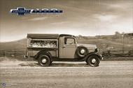 Chevy Trucks Centennial 1939 - 1946 Art Poster