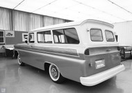 GM Chevrolet Truck Studio 1960 Concept Poster