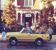 1970 Chevrolet Blazer Ad Poster