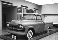 1956 GM Truck Studio Model Poster