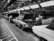 1969 Chevrolet Impala Assembly Plant Poster